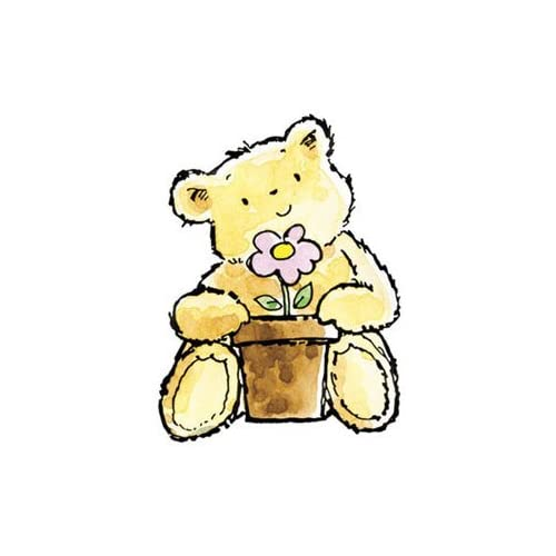 Penny Black Rubber Stamp 1.75X2 Gift Bear