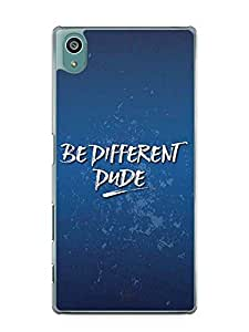 YuBingo Be Different Dude Designer Mobile Case Back Cover for Sony Xperia Z5