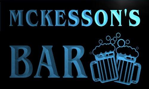 w044544-b-mckesson-name-home-bar-pub-beer-mugs-cheers-neon-light-sign
