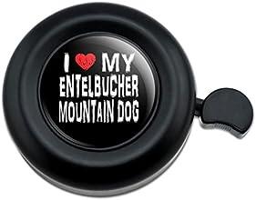 I Love My Entelbucher Mountain Dog Stylish Bicycle Handlebar Bike Bell