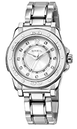 Breil Women's Quartz Watch with Silver Dial Analogue Display and Silver Bracelet TW1108