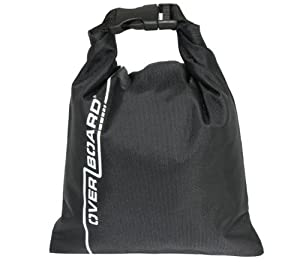 Overboard Pouch Dry Bag - Black, 1 Litres
