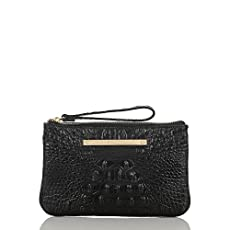 Sally Wristlet<br>Black Melbourne