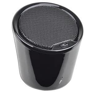 Hype Slice HY 521 BT Portable Mini Bluetooth v20 Speaker w Built in Microphone Black Great for iPhones & iPads...