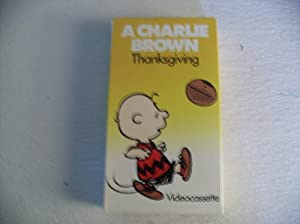 A Charlie Brown Thanksgiving Vhs Tape from KVC