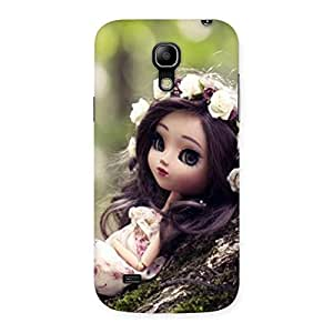 Special Angel And Tree Multicolor Back Case Cover for Galaxy S4 Mini