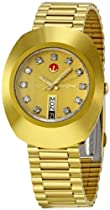 Big Sale Rado Men's R12413493 Original Gold Dial Watch
