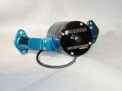 Meziere Enterprises Wp100B Big Block Chevy Electric Water Pump - Blue - 35Gpm
