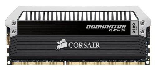 Corsair海盗船 DOMINATOR Platinum 统治者铂金系列 16GB (2 x 8GB) DDR3 2400台式机内存条