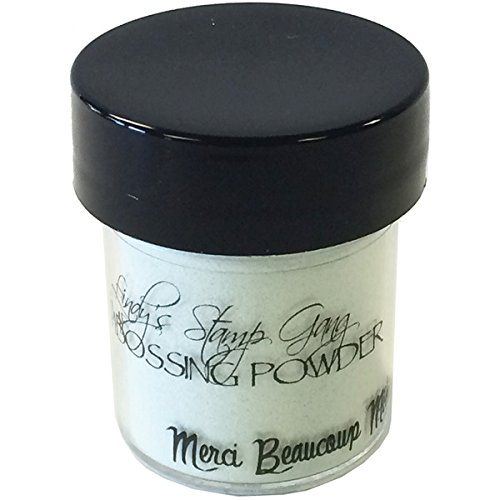 Merci Beaucoup Mint2 -Tone Embossing Powder, Lindy's Stamp Gang