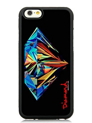Diamond Supply Co Black Phone Case Fit For iPhone 6/6S 4.7 Inches,Fashion TPU Cover (Crystal Tough Luck compare prices)