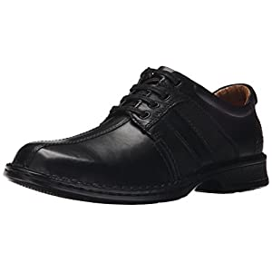 Clarks Men's Touareg Vibe Oxford,Black,11 M US