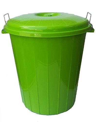 50L LITRE LIME GREEN LUXURY WASTE BIN / RECYCLING BIN / REFUSE / DUSTBIN / RUBBISH BIN