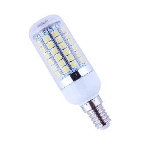 Bloomwin - E14 4.5W/6W/8W Bright Corn Led Bulb 5050 Smd Cool White(6000-6500K)