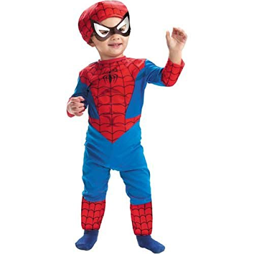 Spiderman Classic Toddler Costume 2T Size