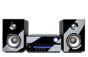 Dual DVD-MS 110 Kompaktanlage (CD/DVD-Player, UKW/RDS-Tuner, 50Watt, USB/Aux-In-Anschluss) schwarz