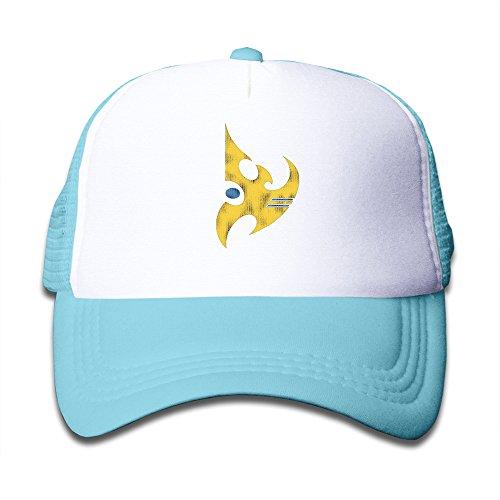 StarCraft II Protoss Vintage Logo Fishing Cap For Kids