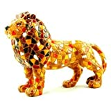 Barcino Mosaic Lion Orange 15cm