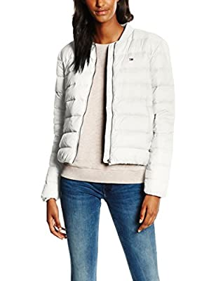 Hilfiger Denim Women's Thdw Light Down Bomber 14 Jacket, Pink