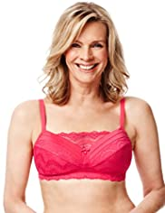 Autograph Post Surgery Scallop Lace A-DD Bra
