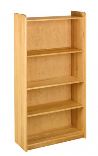 BioKinder 22139 Mensola Lara largo, Altezza 160 cm, legno di ontano biologico