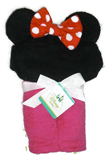 Disney Baby Minnie Mouse Hooded Towel - 1