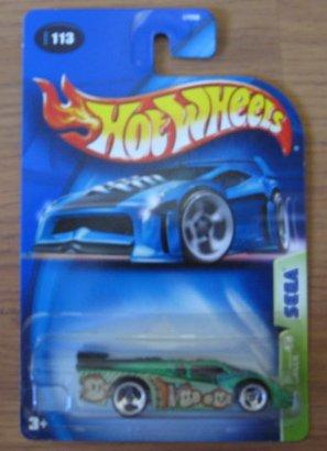 Hot Wheels 2003 Sega GT Racer 4/5 GREEN 113 - 1