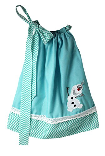 Wholesale Princess Frozen Olaf Princess Pillowcase Dress