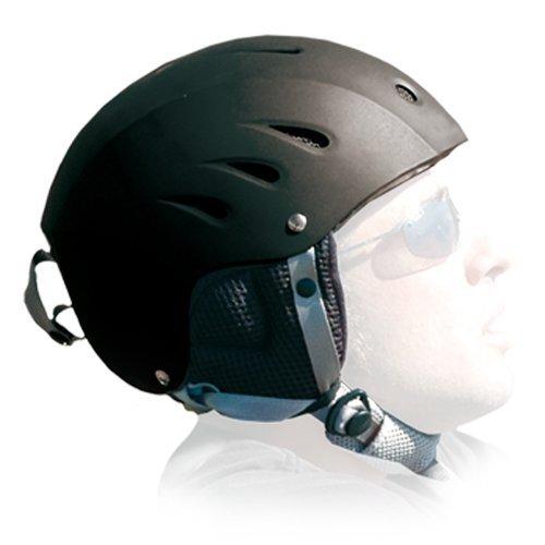 Radsails Helm,Schutzhelm,Skihelm,Snowboardhelm,Sport-Helm,schwarz - Größe L,The H