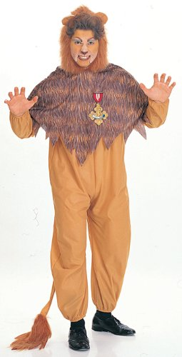 Wiz Of Oz Cowardly Lion Adult Halloween Costume
