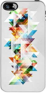 Snoogg Abstract Colourful Theme Designer Protective Back Case Cover Forapple ...