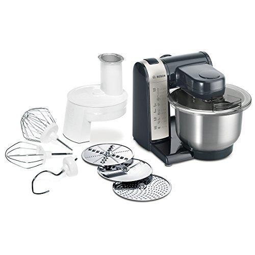 Bosch MUM4405 - Robot de cocina, 500 W, capacidad de 3,9 l, 4 velocidades, color blanco