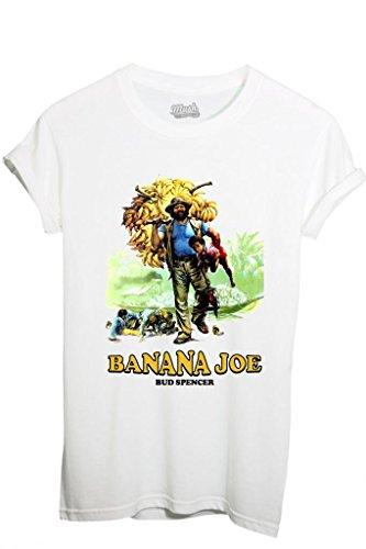 T-SHIRT BANANA JOE BUD SPENCER-FILM by MUSH Dress Your Style - Donna-M-BIANCA