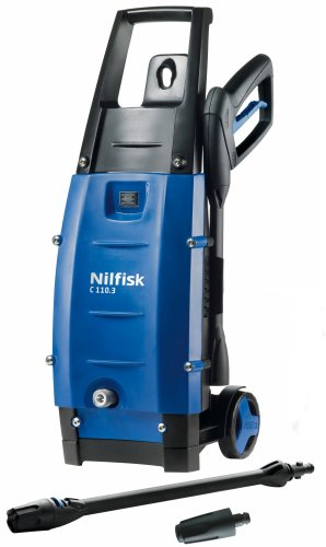 Nilfisk C110 3-5 X-Tra Pressure Washer with 1400 Watt Motor