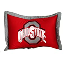 Ohio State Buckeyes Printed Pillow Case (Set of 2)
