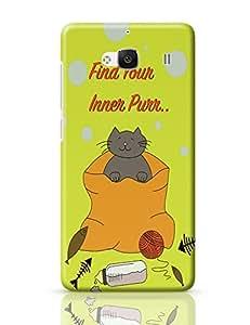 PosterGuy Redmi 2 Case Cover - Purr | Designed by: Bougainvillea