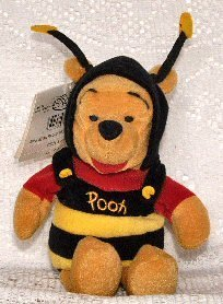 Disney Mini Bean Bag Bumble Bee Pooh - 1