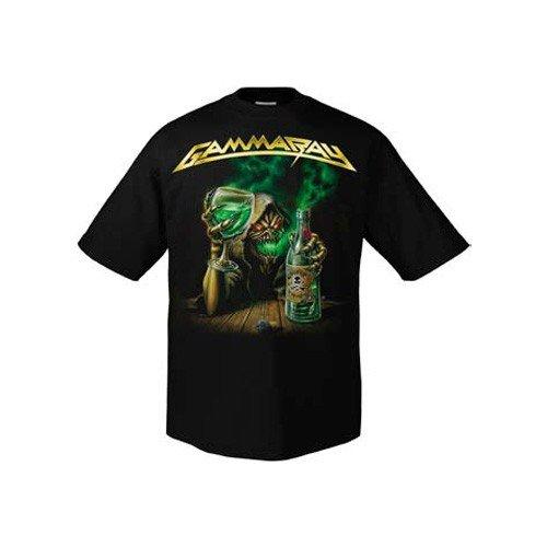 Gamma Ray, colore: verde assenzio 700516-Maglietta nero Large