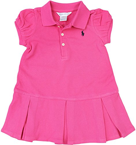 Ralph Lauren Baby Girl s Pleated Polo Dress and Bloomer