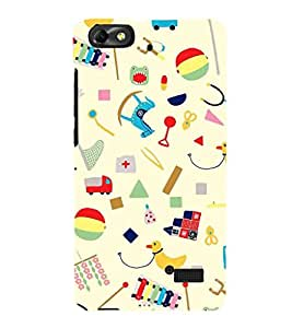 Fuson Premium Printed Hard Plastic Back Case Cover for Huawei Honor 4C
