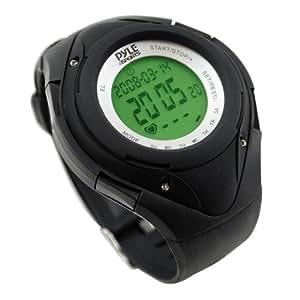 Pyle-Spor t Spor ts Phrm38bk Heart Rate Monitor Watch with 3d Walking/Running Sensor