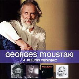 4 Albums Originaux : Georges Moustaki