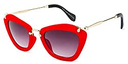 Rafa Cateye Sunglasses (Red) (81528RDGRY)