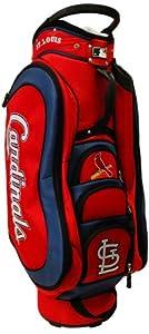 MLB St. Louis Cardinals Medalist Cart Golf Bag, Navy by Team Golf