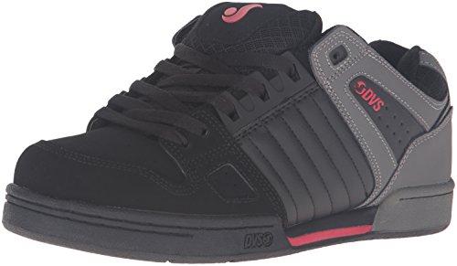 dvs-apparel-celcius-herren-skateboardschuhe-schwarz-schwarz-noir-008-grosse-44