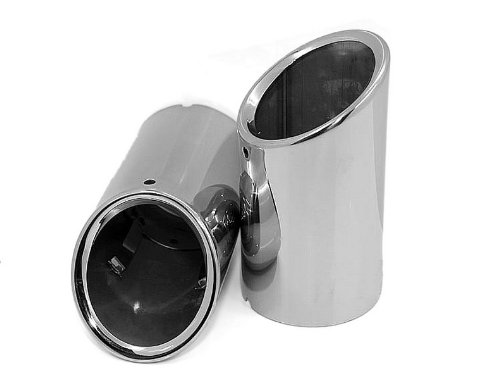 Auto parts Stainless Steel EXHAUST MUFFLER TIP Pipe Fit For Volvo S60 2.0T 2011 2012