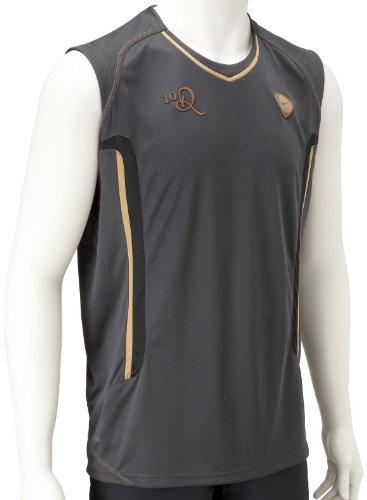 Nike, 10 Ronaldinho Dri-FIT, Maglia senza maniche da uomo, Nero, 107/109 cm