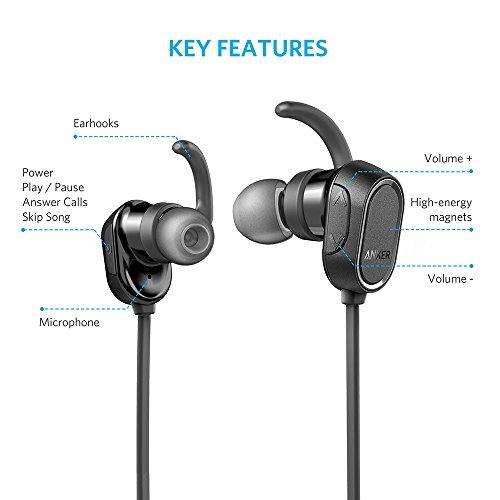 anker soundbuds in ear sport earbuds magnetic wireless. Black Bedroom Furniture Sets. Home Design Ideas