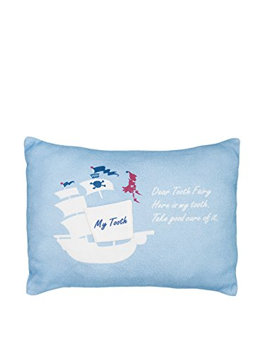 Milo and Lilirose Milk Tooth Cushion, Blue