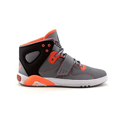 Amazon.com: Mens adidas Roundhouse Athletic Shoe Gray/Black/Orange